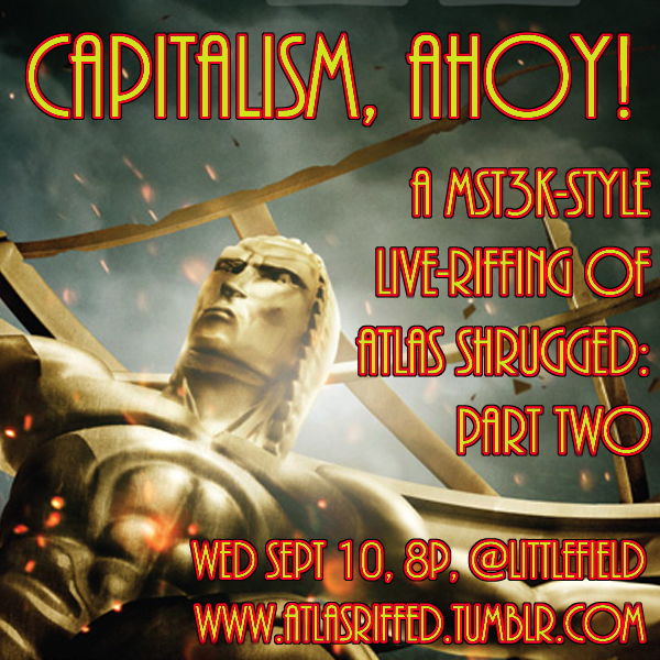 Atlas Shrugged Part 2 Graphic- Brooklyn